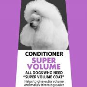 MD10 Conditioner Super Volume 1,000ml  (diluted approx 25 Liter) - Poodle, Bichon, Ch0w Chow, Pomeranian, Nordic, Samoyed,  Akita, Malamute, shiba inu